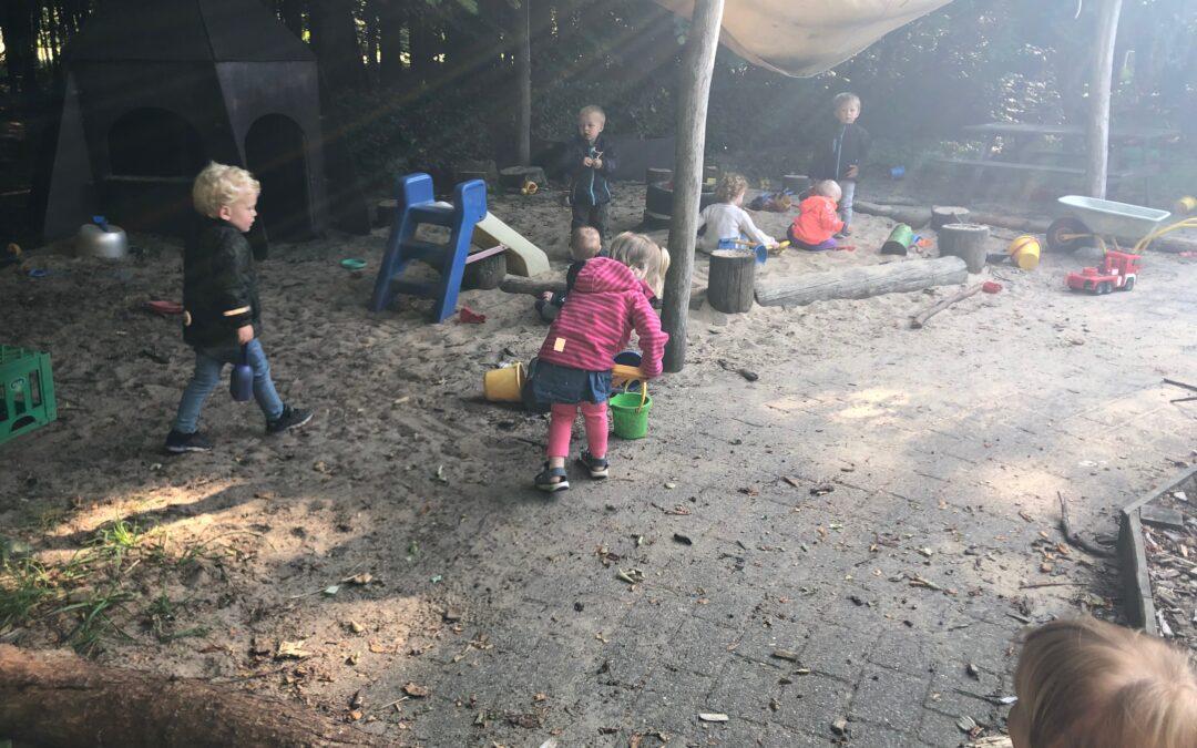 En tur i børnehaven